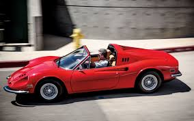 porsche poster everybody wants one 1973 ferrari dino 246gts classic drive motor trend classic