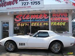 1968 corvette interior 1968 polar white chevrolet corvette convertible 24901260