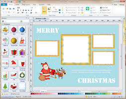 card software personalized christmas photo card software