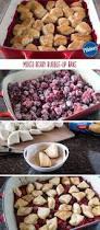mixed berry bubble up bake recipe fruit cobbler cobbler and