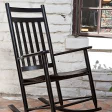 Rocking Chairs Cushions Dixie Seating Indoor Outdoor Slat Rocking Chair Black Hayneedle