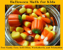 halloween math for kids free candy corn activities worksheets