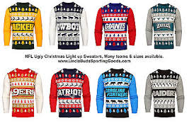 raiders christmas sweater with lights nfl mens light up ugly christmas sweater 59 95 picclick