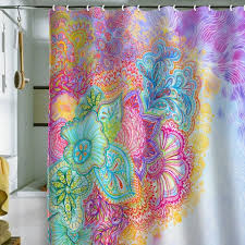 Turquoise Paisley Curtains Fancy Girly Shower Curtains And Pink Turquoise Girly Chic Floral