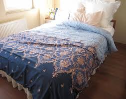 duvet pink blue navy damask print full queen stunning navy and