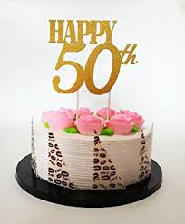 50 birthday cake all about details gold happy 50th birthday cake topper