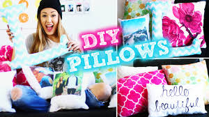 diy inspired pillows to decorate your room laurdiy youtube