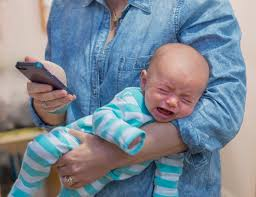 Baby On Phone Meme - parenting and cell phones science shows the harms of digital