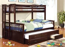 Bunk Bed With Trundle Bed Newbridge Bunk Bed With Trundle Bed