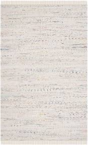 Modern White Rug Rug Rar121g Rag Rug Area Rugs By Safavieh