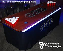 How To Make The Best Beer Pong Table On Campus  Steps With - Beer pong table designs