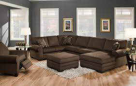 Black Microfiber Sectional Sofa With Chaise Sofa Sectional Sofas Microfiber Splendid Microfiber Sectional