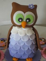 3 d fondant owl tutorial byrdie custom cakes