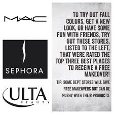 ulta thanksgiving hours 3 top places to get a free makeover mac sephora ulta