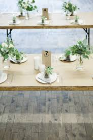 Ikea Pink Plates by Simple Wedding Wooden Folding Tables Kraft Paper As Tablecloth