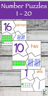 kindergarten worksheets and games free number 1 20 puzzles