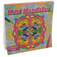 mini coloring book mini mandalas colouring book assorted party bag fillers at the