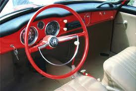 Karmann Ghia Interior 1962 Volkswagen Karmann Ghia Convertible 60973