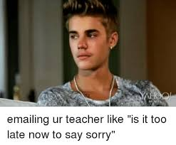 Funny Sorry Memes - 25 best memes about say sorry say sorry memes