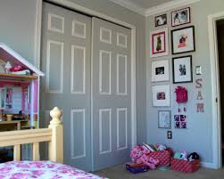 tip to make the room seem bigger paint closet doors the same as