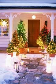 outdoor yard decorating ideas tree light