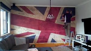 wallpapers union jack group 71 wallpaper mural installation grunge union jack youtube