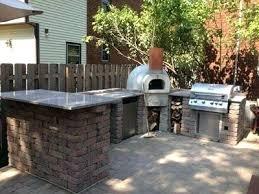 Outdoor Kitchen Pizza Oven Design Outdoor Kitchen With Pizza Oven Outdoor Kitchen With Wood Burning