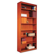 amazon com alera bcs78436mc square corner wood bookcase seven