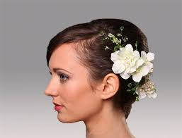 decorative flower bridal hair ornament ready to ship