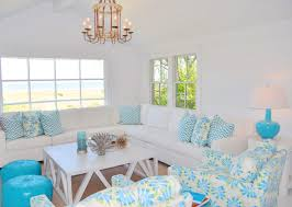 Beachy Chandeliers Living Room Fascinating Image Of Beachy Living Room Decoration