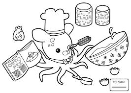 Coloring Pages Shellington Studies Fossils Octonauts Cartoons Octonauts Coloring Pages