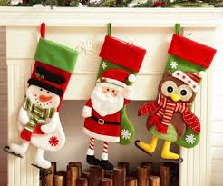 Christmas Stocking Decorations Christmas Decoration For Kitchen Home Designing