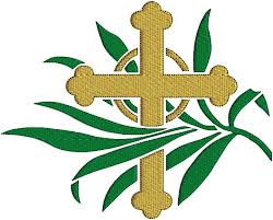 palm sunday crosses cross palm sunday church clipart panda free clipart images