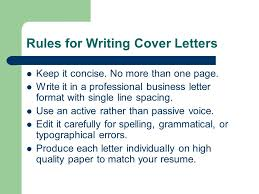 concise cover letter cover letters the fundamentals what is a cover letter a cover