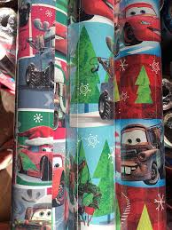 cars wrapping paper disney pixar cars 3 wrapping paper tags 2 gift wrap