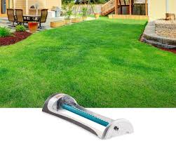 lawn sprinklers best oscillating sprinkers for your yard gilmour