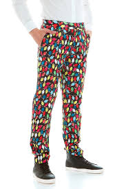 LIGHTS  Christmas Slim Fit Dress Pants LIMITED  Suslo Couture