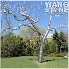 garden decoration stainless steel tree sculpture buy stainless