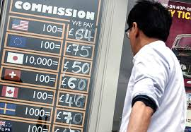 bureau de change commission britons dash for euros and dollars as eu referendum vote nears