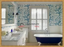 bathroom with wallpaper ideas modern bathroom wallpaper designs ideas 2017 fashion decor tips