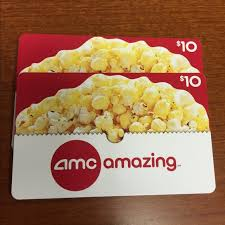 where to buy amc gift cards other 2 10 amc gift cards poshmark