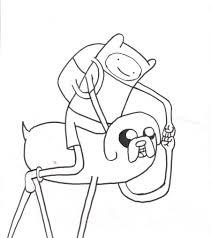 finn jake coloring thepope1932 deviantart