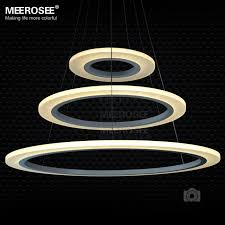 Chandelier Led Lights Modern New Lamp Chandelier Led Lights Acrylic White Light Frame