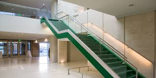 Banister On Stairs Structural Glass Railings Stainless Steel Aluminum Railings