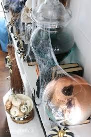black u0026 white spooky halloween mantel remington avenue