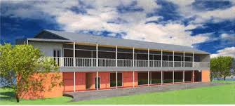 two storey building eight classrooms to be part of new double storey building proposed