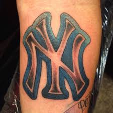 yankees tattoo by wes fortier a photo on flickriver