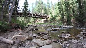 Big Sky Montana Trail Map by Ousel Falls Trail Big Sky Mt Youtube