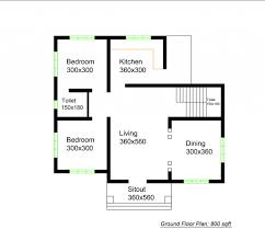 800 sq ft modern single floor home galaxyalive