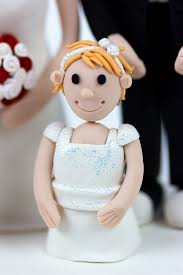 wedding cake topper close up 2